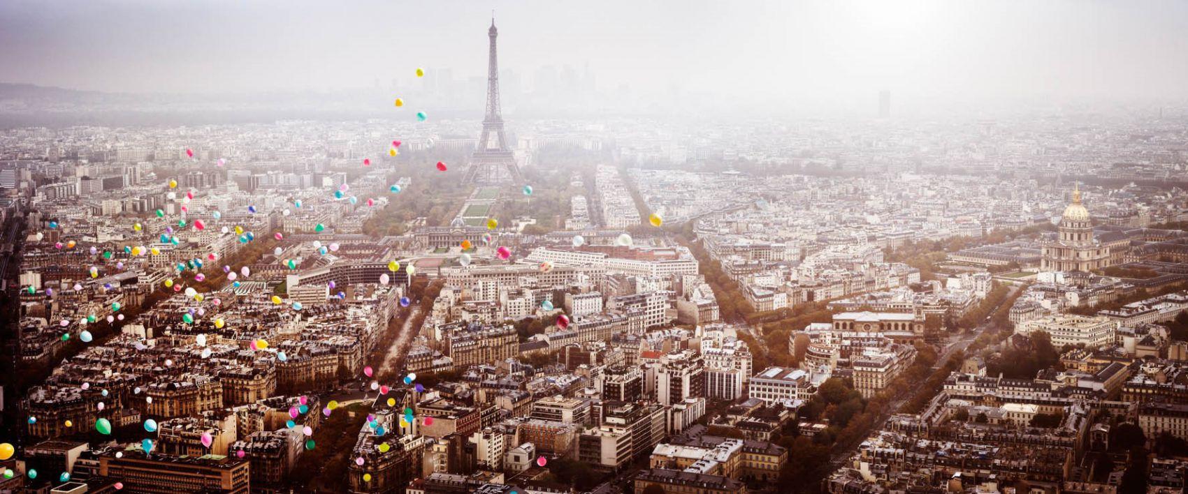 David Drebin, Balloons Over Paris