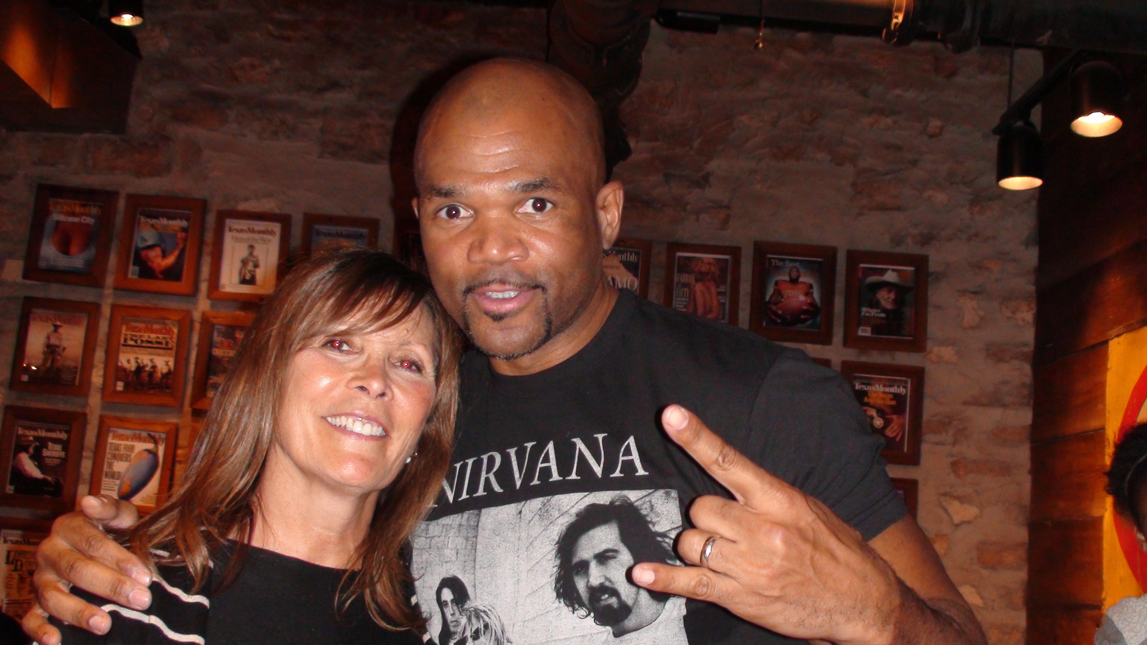 Sheila Jaffee & Hip Hop Legend Darryl DMC McDaniels