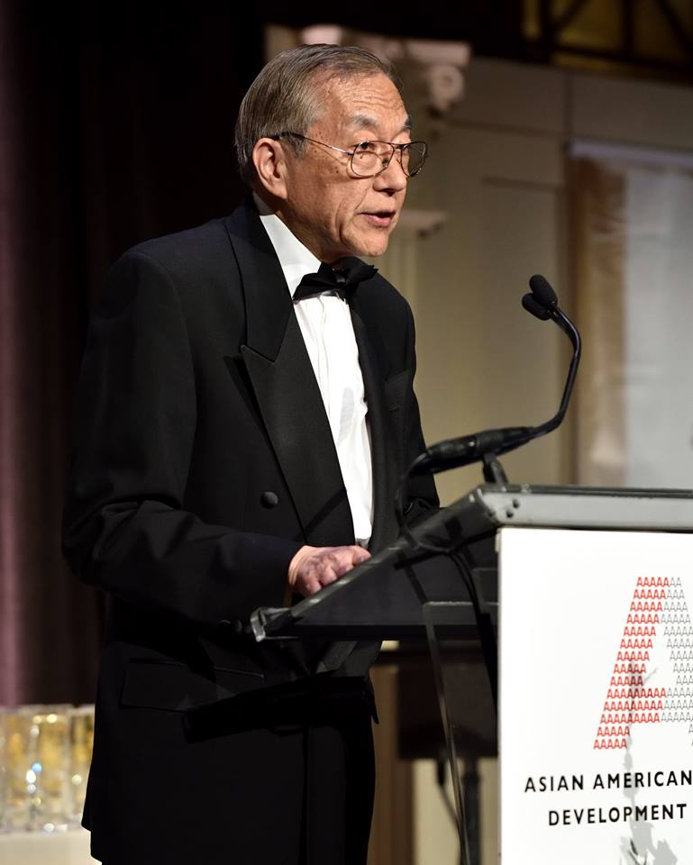 John Wang speaks at the 2018 Outstanding 50 Asian Americans in Business Awards Gala