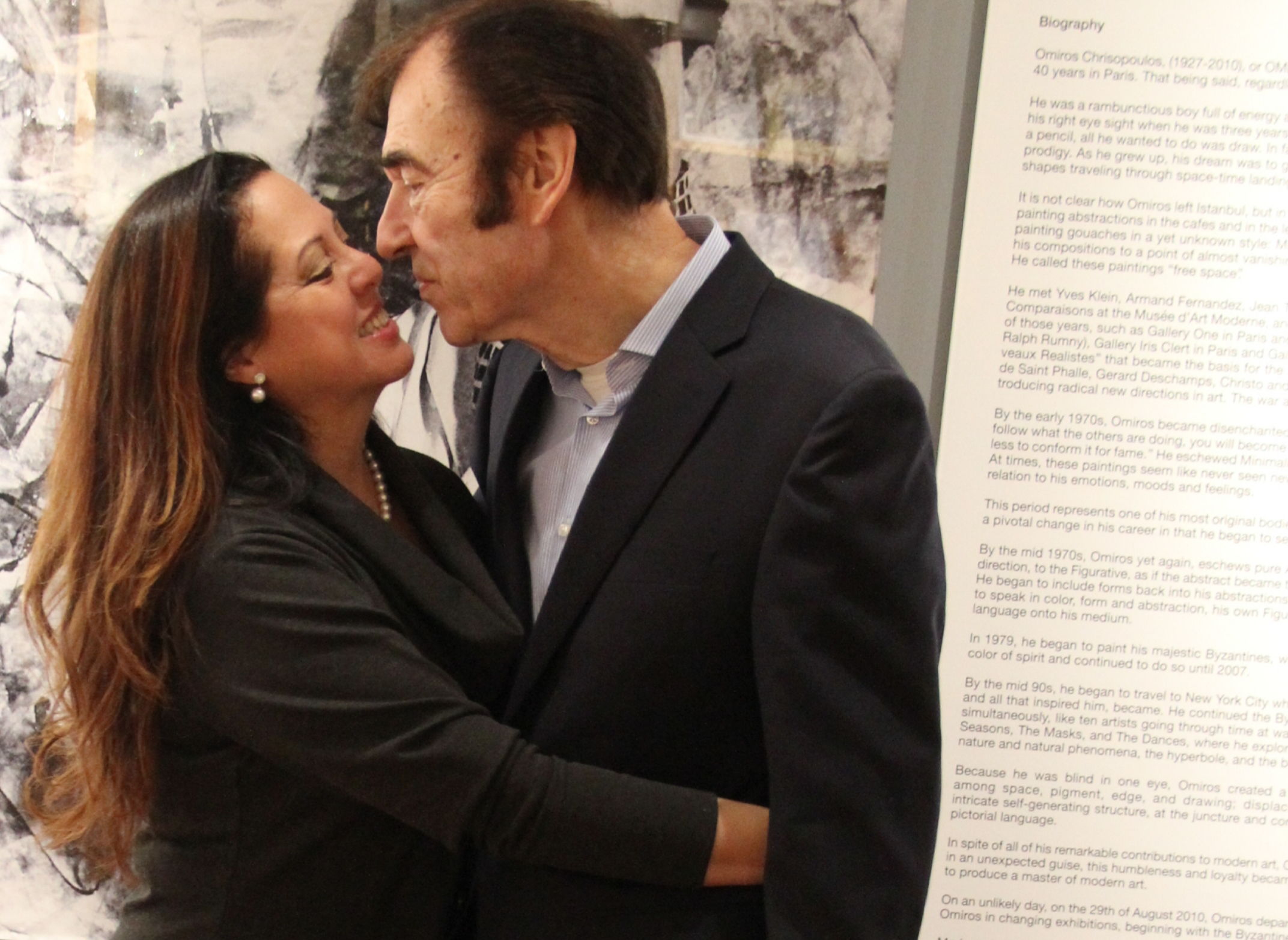 Marlene & Peter Saile. Atelier Omiros Inaugural Opening