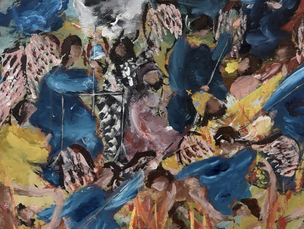 Omiros, The Last Judgment, Detail