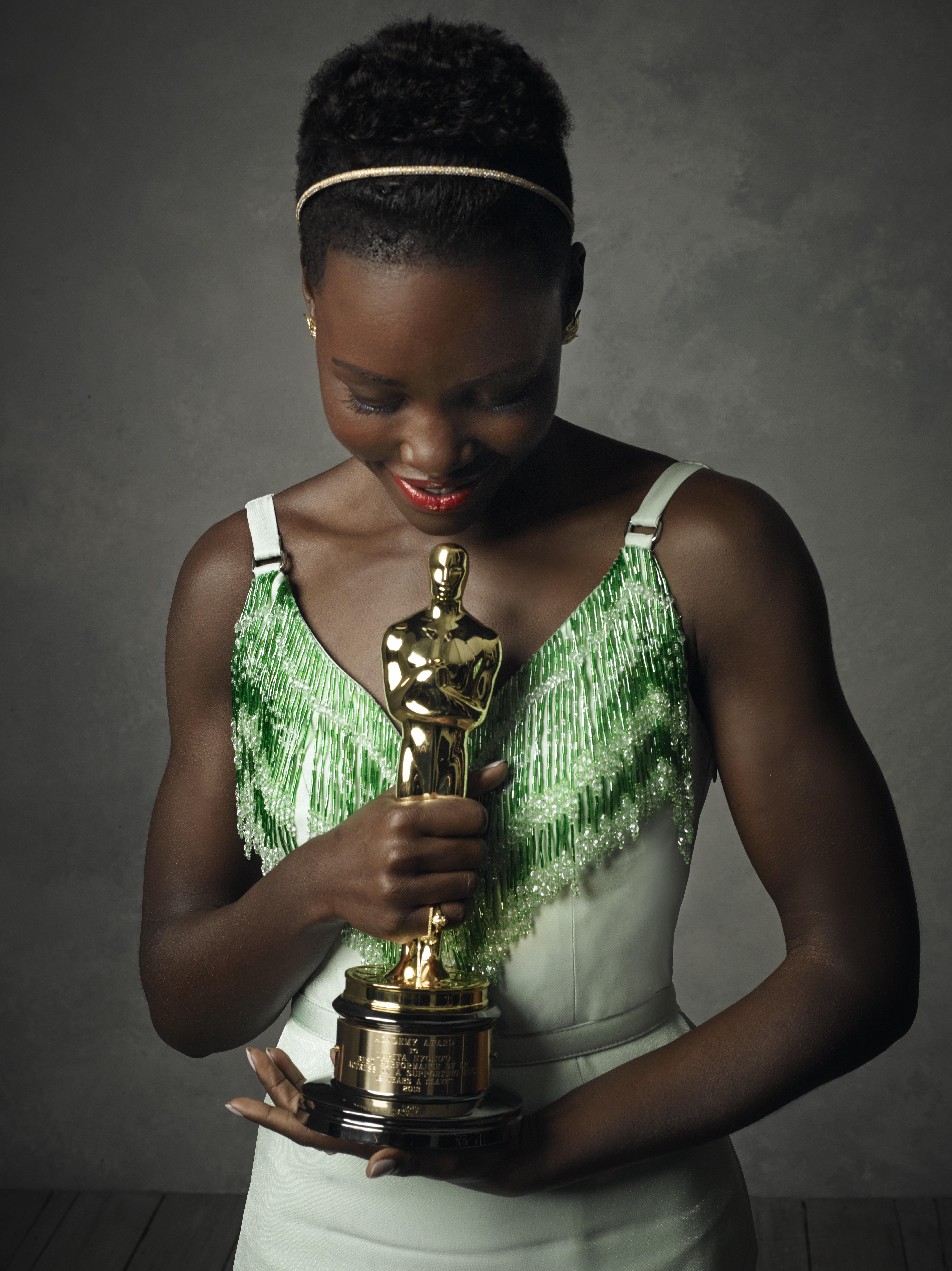 Lupito Nyong'o at the Oscars