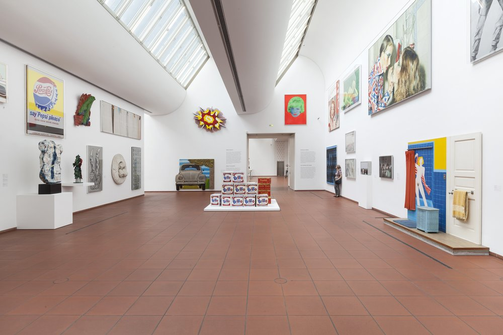 Installation view Museum Ludwig