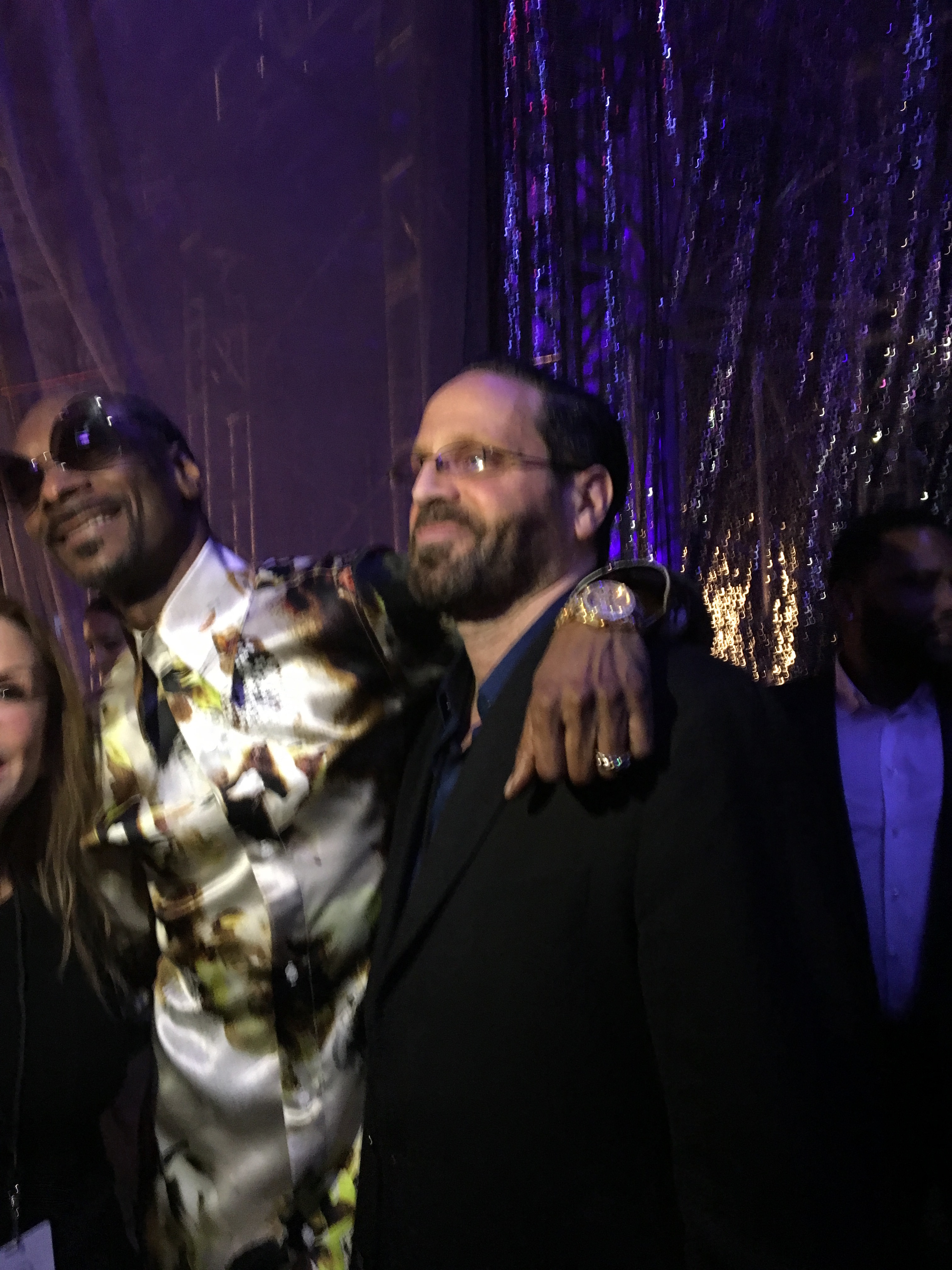 Snoop with AMM Publisher Michael Reiss