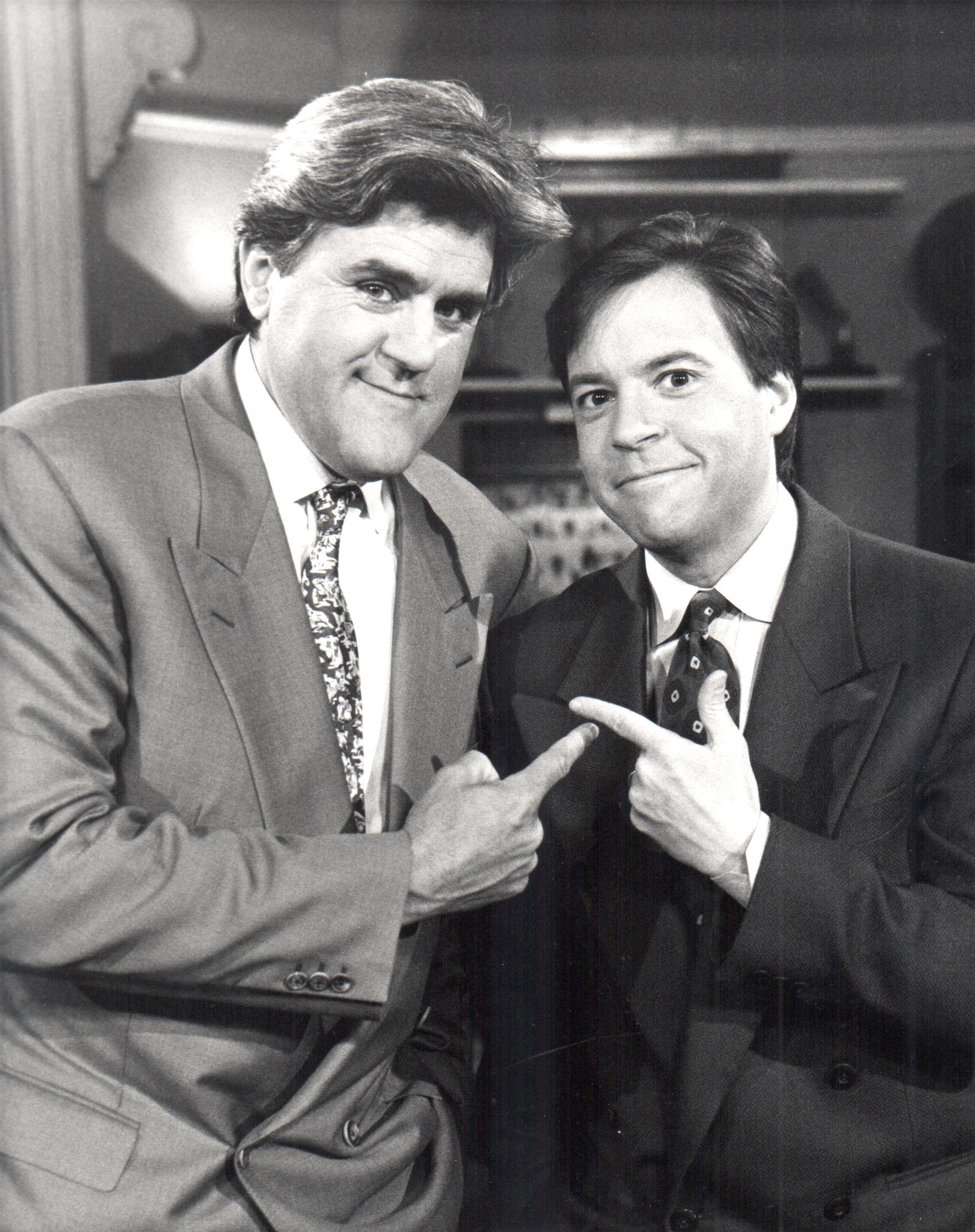 Bob Costas & Jay Leno At Later