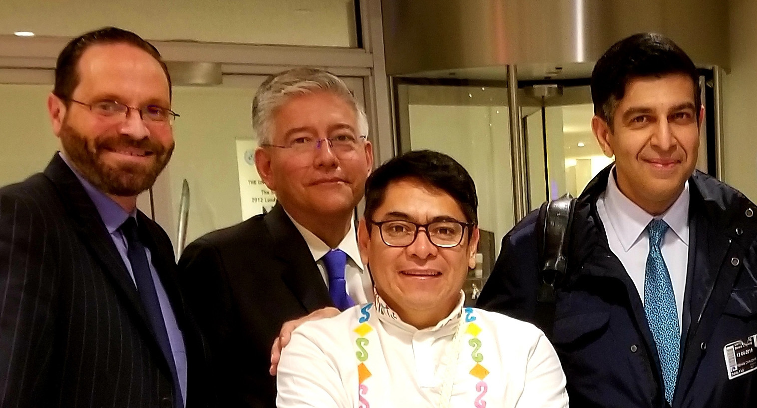 Michael Reiss Luis Galvis Cuy Armando Gómez Rehan Chaudhri