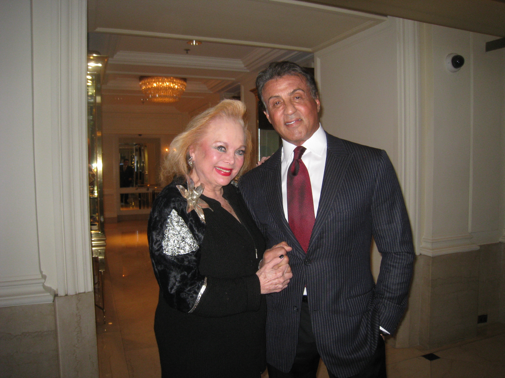 Carol Connors & Sylvester Stallone