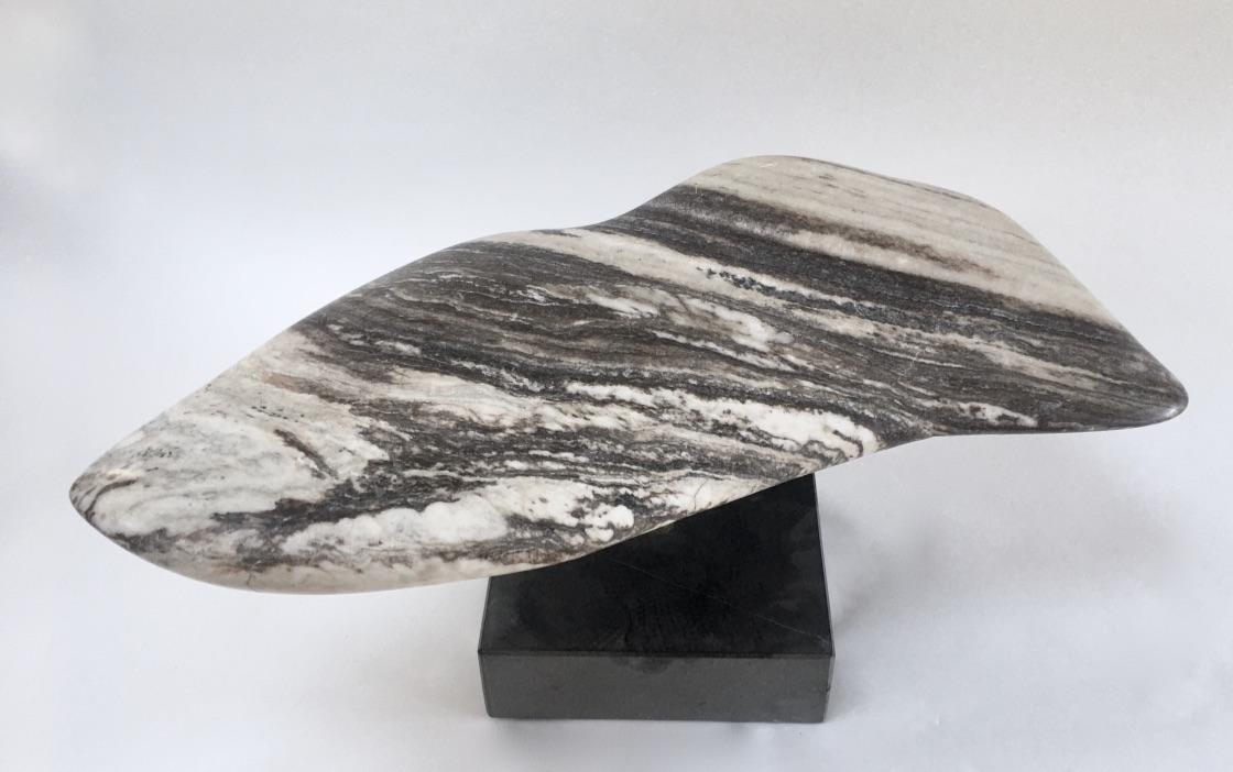 Scott Kling, Cetacean, Belgium Black Marble, 2019
