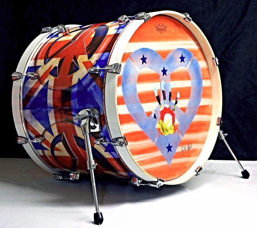 Rick Allen, Kick Drum